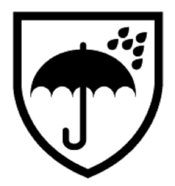 EN 343: Protection Against Rain Symbol