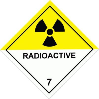 Class 7 Radioactive Material