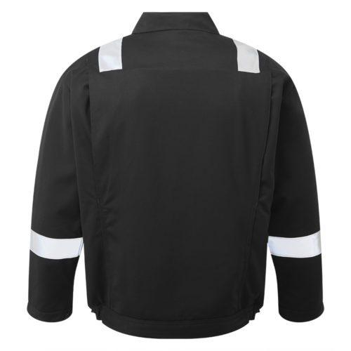 HAZTEC® Wafra FR AS Inherent Black Padded Jacket