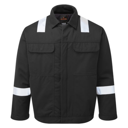HAZTEC® Wafra FR AS Inherent Black Padded Jacket