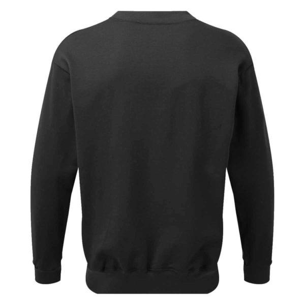 AS2330 HAZTEC® Bakken FR AS Inherent SweatshirtBlack_Back LR