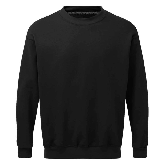 AS2330 AS2330 HAZTEC® Bakken FR AS Inherent SweatshirtBlack_Back LR Black_Front LR