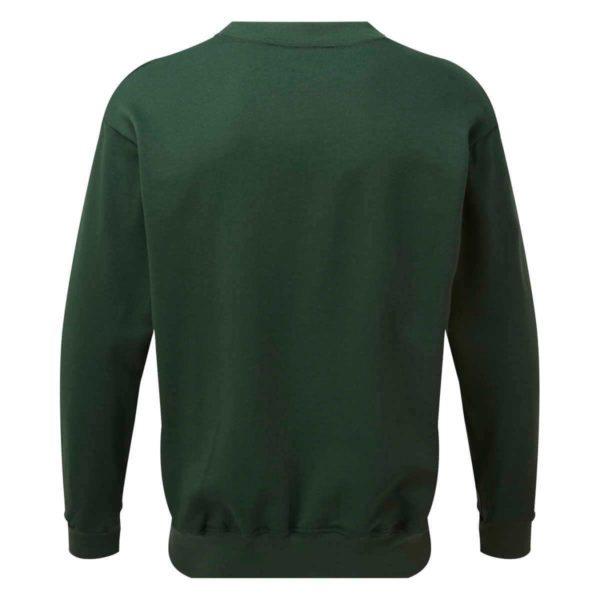 AS2330 HAZTEC® Bakken FR AS Inherent SweatshirtGreen_Back LR