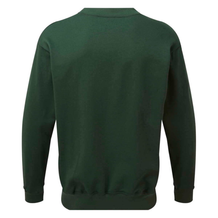 AS2330 HAZTEC® Bakken FR AS Inherent SweatshirtGreen_Back LR