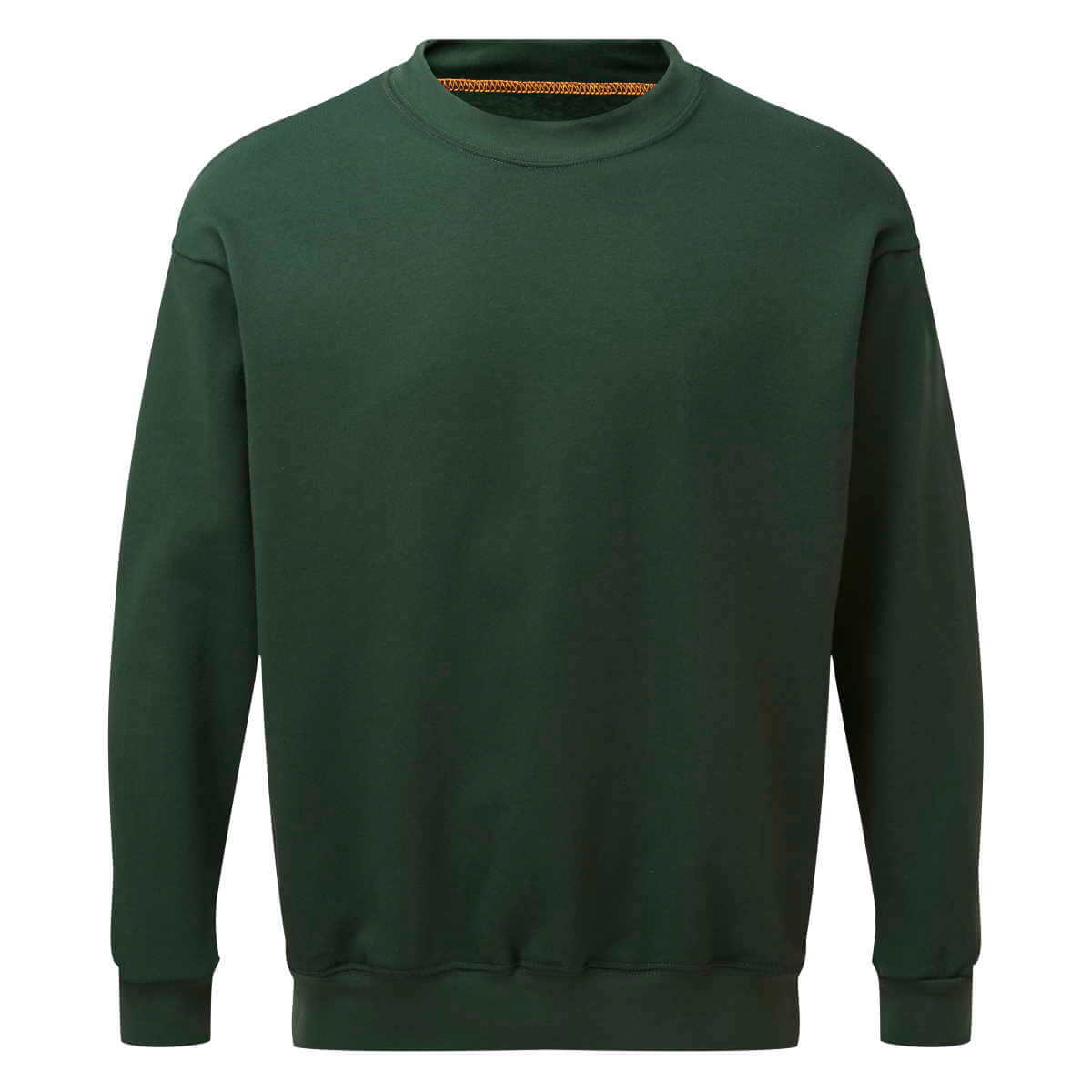 AS2330 HAZTEC® Bakken FR AS Inherent Sweatshirt Green_Front LR