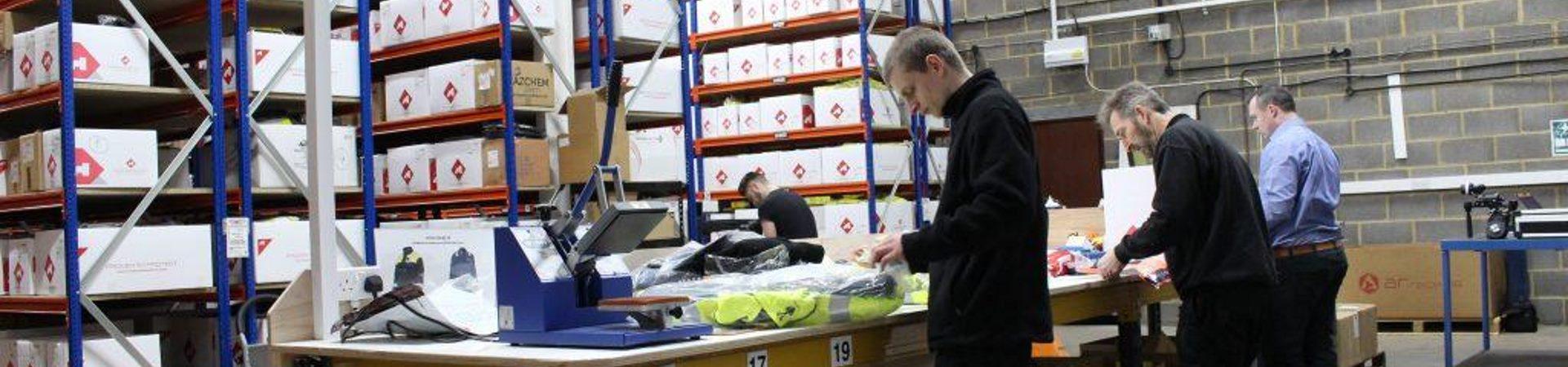 Hazchem Warehouse Heads Down New Racking