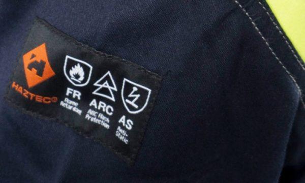 Haztec Arm Label
