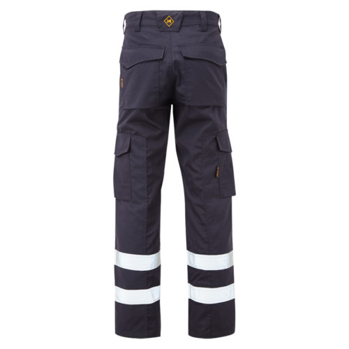 TR1843 Ballistic 50 Trouser_LR_Navy_Back