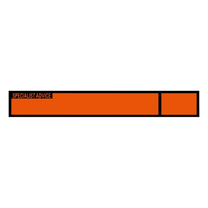 VS0520 Tricode Telephone Label
