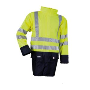 Microflex Anti-Static Flame Retardant Two-Tone Hi-Vis Rain Jacket