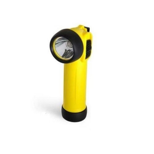 PL0250 LED Yellow Right Angle ATEX Safety Torch