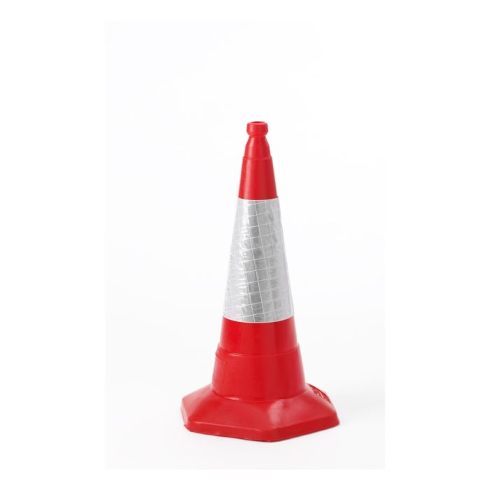 VE0460 Red Traffic Cone 500mm