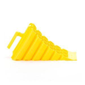 Yellow Plastic Small Wheel Chock