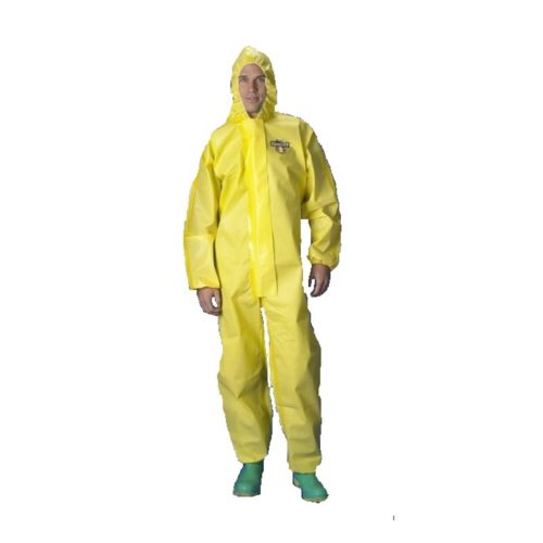 ChemMAX® 1 Type 3,4,5 & 6 Disposable Coverall, Yellow