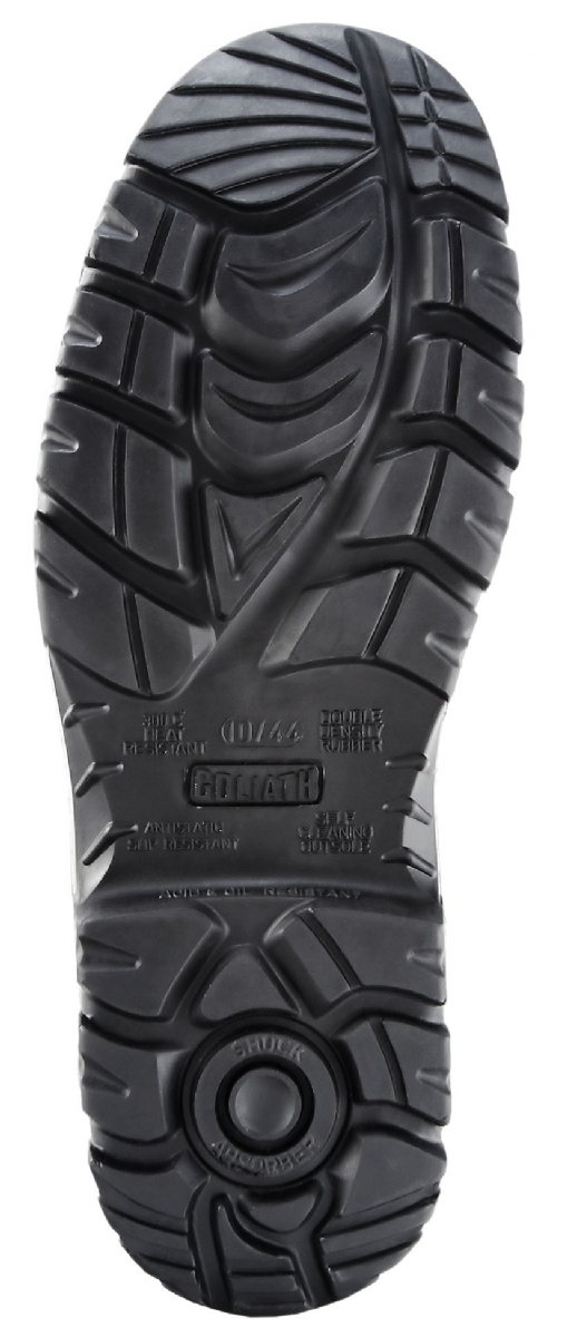 DDR Rubber S5 Petrochem High Leg Zip Boot