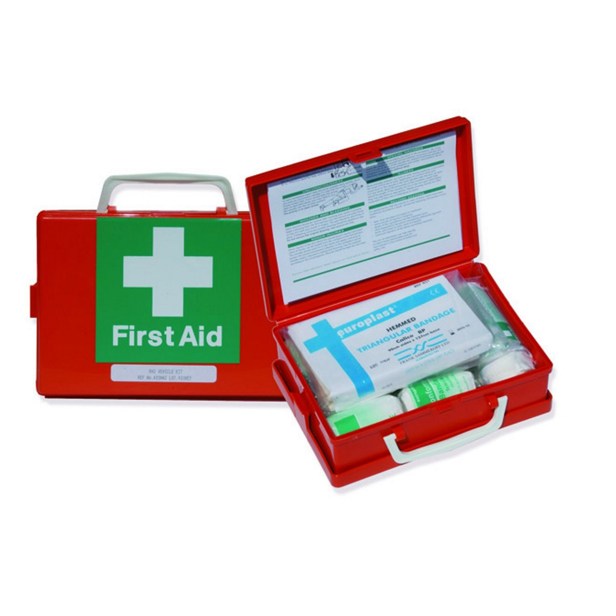 Travelling First Aid Kit in Orange Box