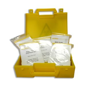5 Application Biohazard Body Fluid Spill Kit