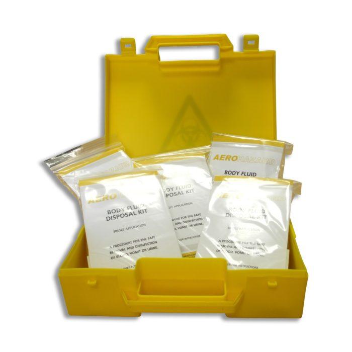 5 Application Biohazard Body Fluid Spill Kit
