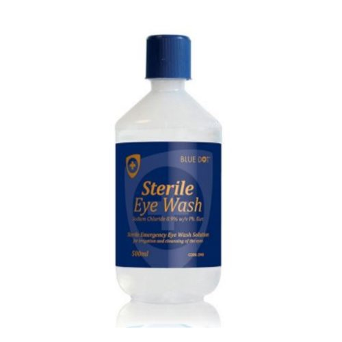 Sterile Saline 500ml Eyewash Solution