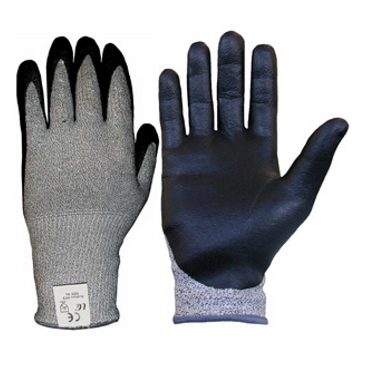 Kutlas Black Cut Level 5 Gloves