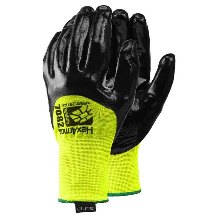 Sharpsmaster Hexarmor Gloves, for Needle Protection