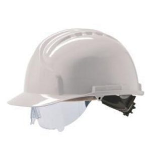 MK7 Safety Helmet with Retractable Eye Shield