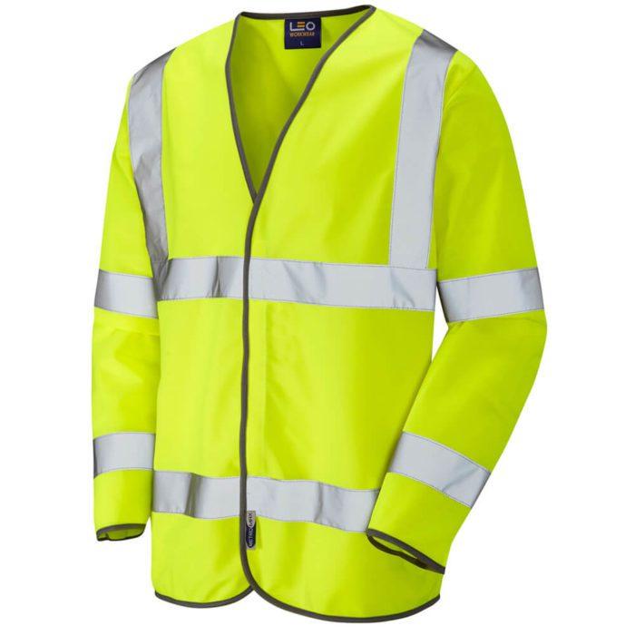 HV0012 Hi-Vis Long Sleeve WaistcoatHV0012 Hi-Vis Long Sleeve Waistcoat