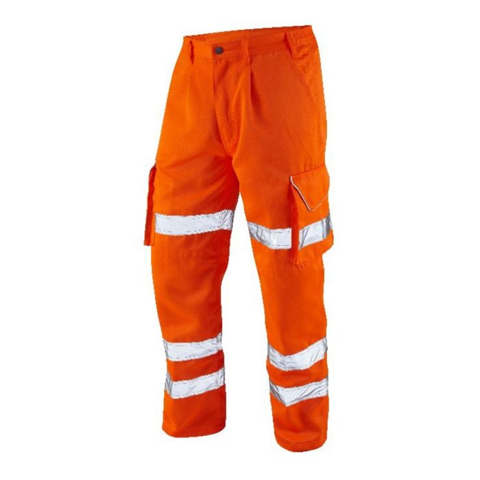 Hi-Vis Cargo Work Trouser