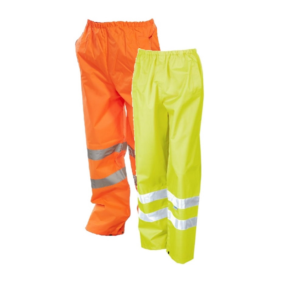 Hi-Vis Unlined Traffic Overtrousers