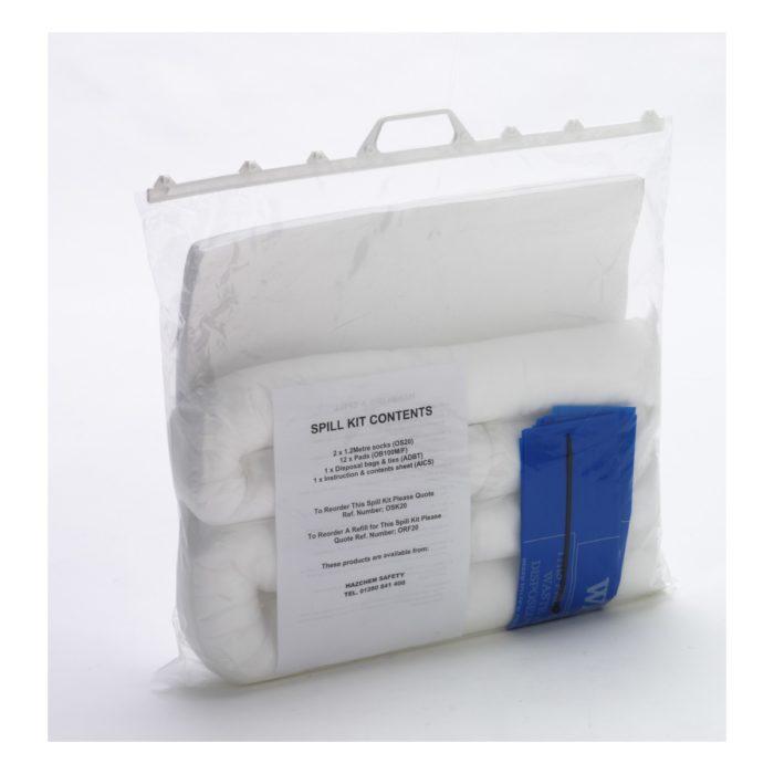 Oil Absorbent Spill Kit 20 Litre