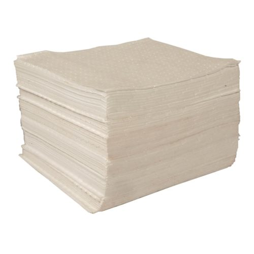 Oil Absorbent Spill Pads 100 Litre Pack of 100 Double Thickness