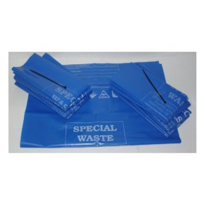 Pack of 10 Waste Disposal Bags & Ties