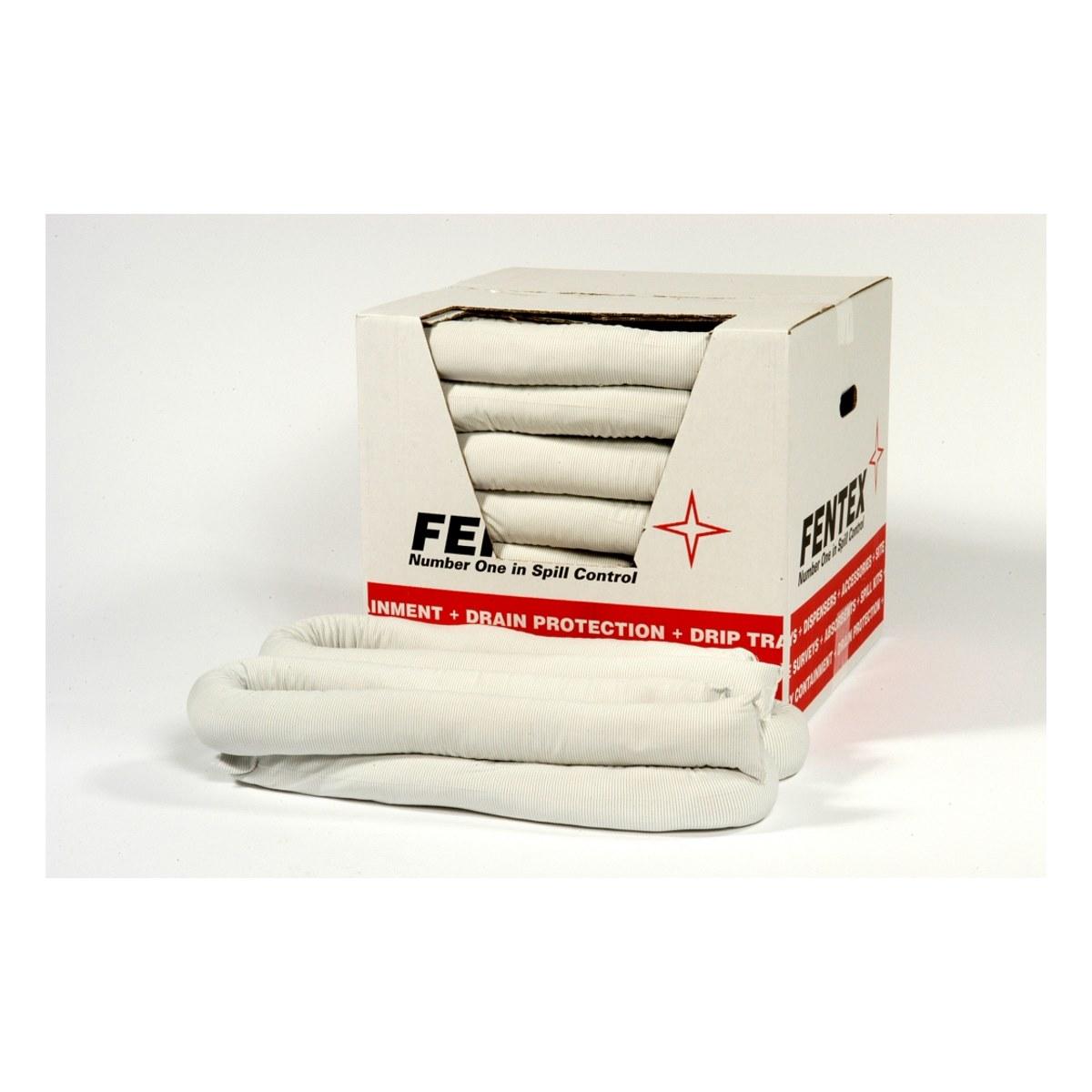 Pack of 8 Oil Absorbent Spill Socks 8cm x 3m 90 Litre