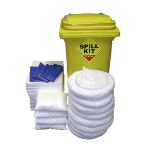 Oil Absorbent Spill Kit in Bin 200 Litre