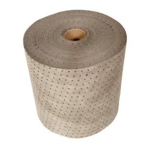 General Absorbent Spill Pads on Roll Individual 38cm x 20m