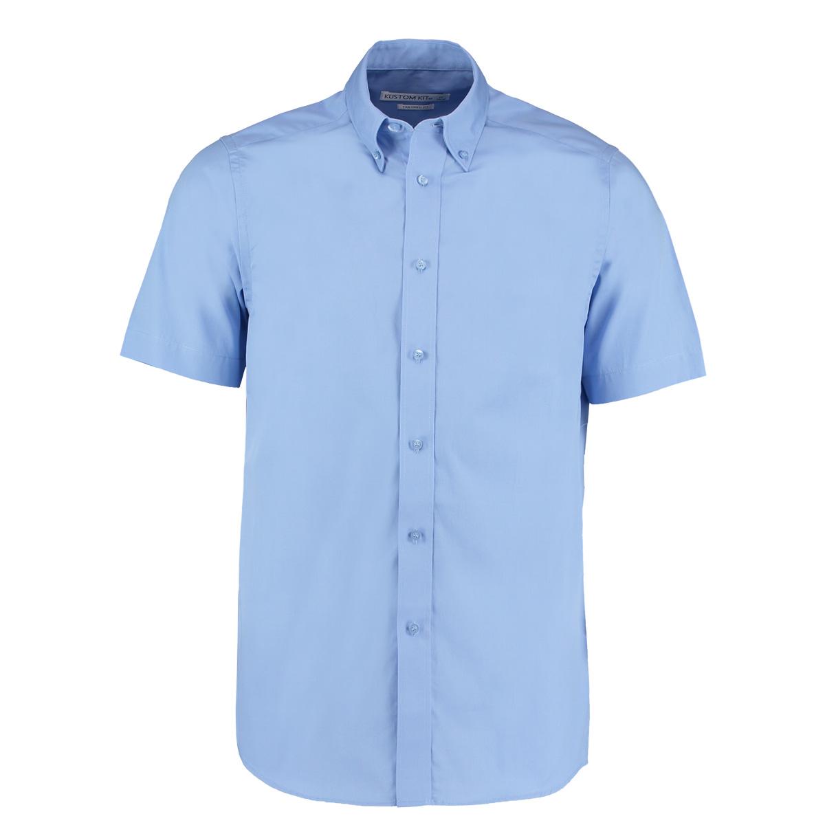 100% Cotton Short Sleeve Oxford Shirt