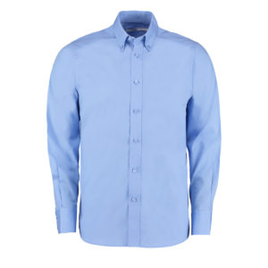 100% Cotton L/Sleeve Oxford Shirt