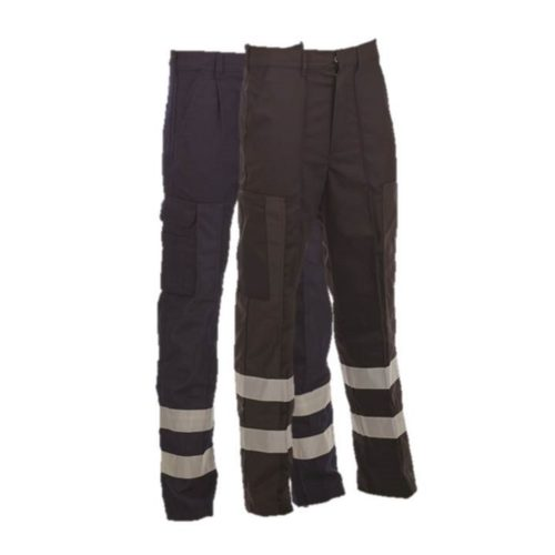 Lightweight Ballistic Trousers with Hi-Vis Bands