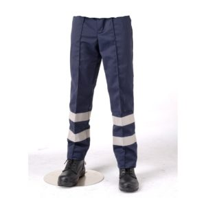 245 gsm Driver Trousers with Hi-Vis Bands
