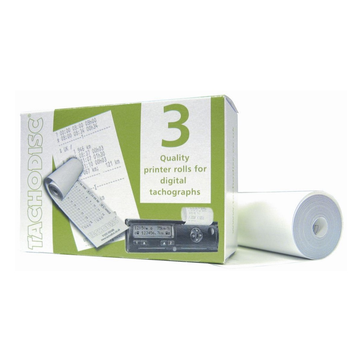 Digital Tacho Rolls Pack of 3