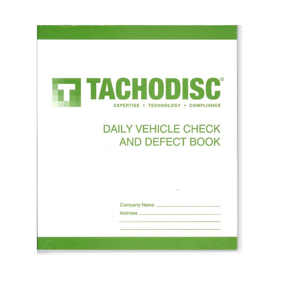 Tacho Defect Book Duplicate