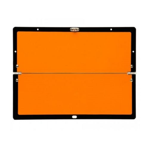 Horizontally Hinged Folding Orange ADR Plate 300 x 400mm