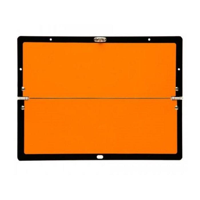Horizontally Hinged Folding Orange ADR Plate 300 x 400mm