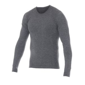 Flame Resistant & Anti-Static Seamless Baselayer Top, Grey