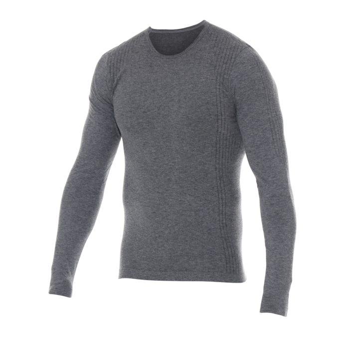Flame Resistant & Anti-Static Seamless Baselayer Top, Grey