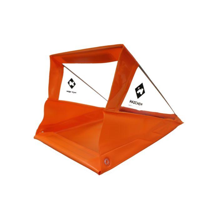 Hazchem Orange Waterproof Clipboard