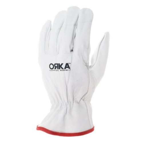 Orka Driver Gloves White Unlined