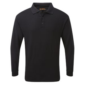 HAZTEC® Boscan FR AS Inherent Long Sleeve Poloshirt