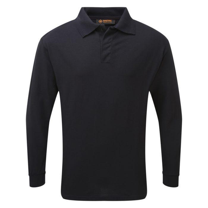 FR AS Inherent Long Sleeve Poloshirt