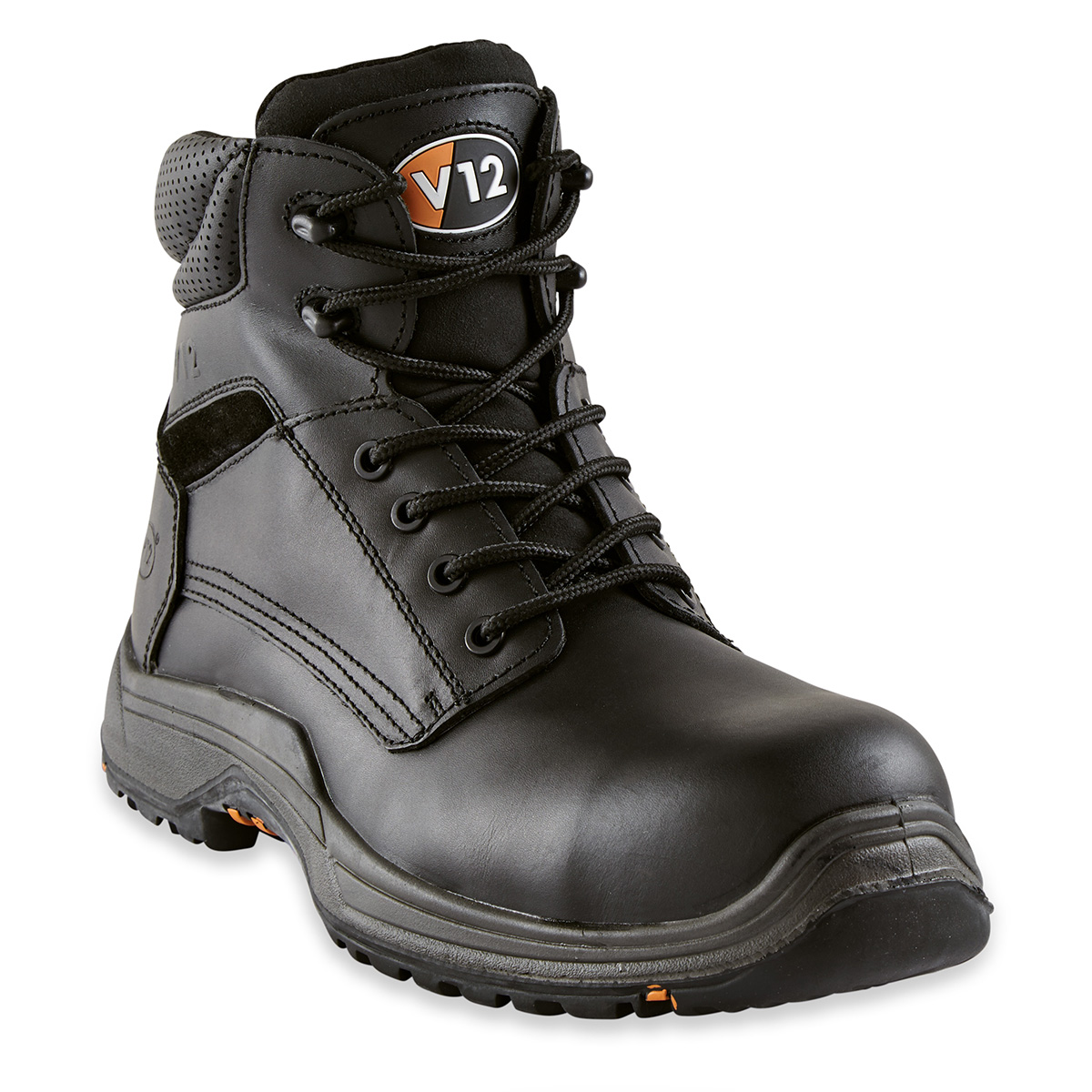 V12 Bison Wide Fit Safety Derby Boot